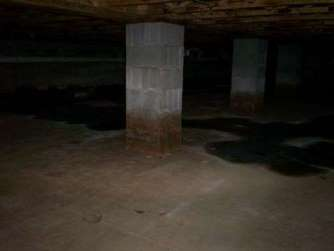 Crawl Space Drainage Matting - Crawlspace Encapsulation - Services in Northern Michigan - Warmer Mornings Air Sealing & Insulation
